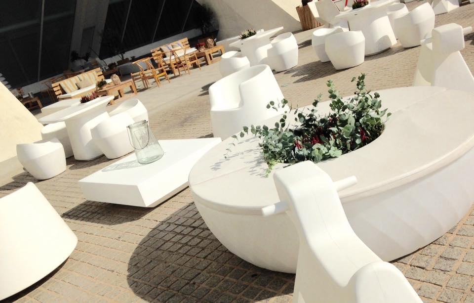 Mobiliario eventos en </br> <b> Ciudad de las Artes y de las Ciencias </b> </br> Valencia
