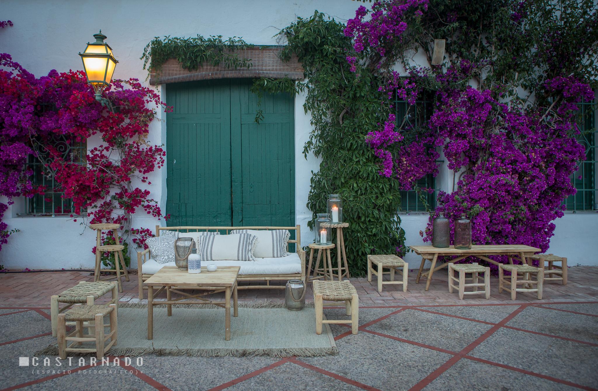 Mobiliario bodas en </br> <b> Campo Anibal </b> </br> Valencia