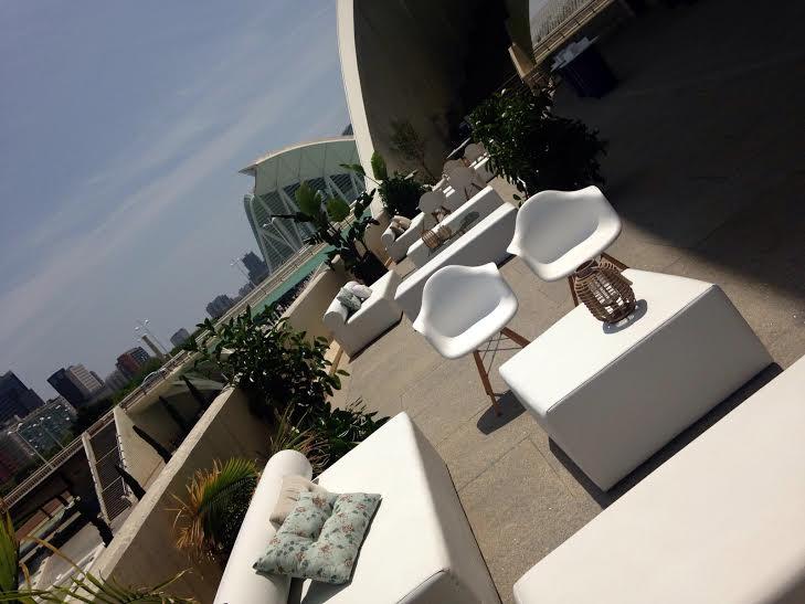 Mobiliario eventos en </br> <b> Palau de les Arts </b> </br> Valencia