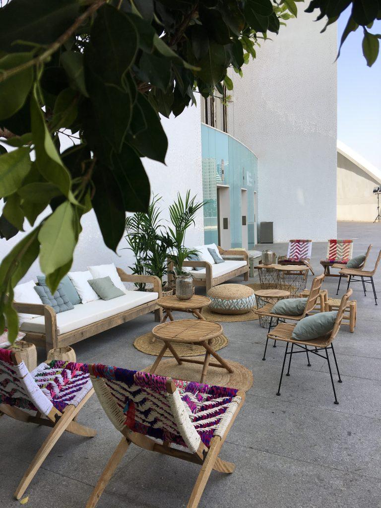 Mobiliario bodas en </br> <b> El Palau de les Arts </b> </br> Valencia