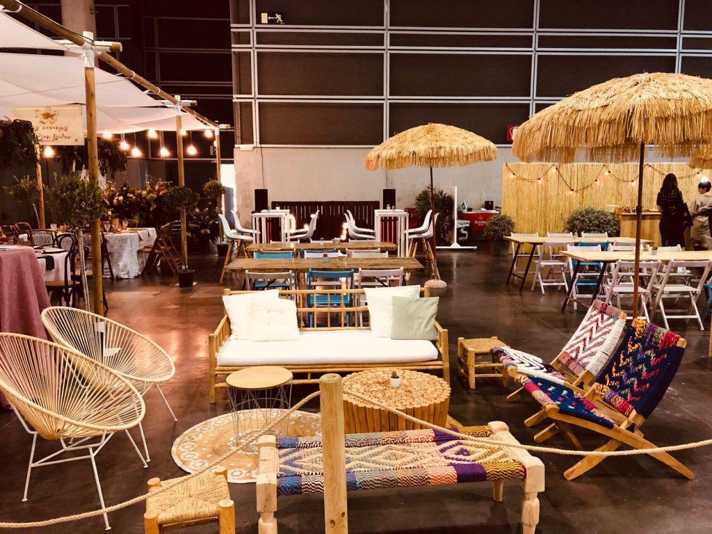 Mobiliario eventos en </br> <b> Feria de Valencia  </b> </br> Valencia
